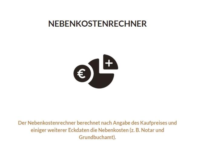 Nebenkostenrechner Kaufpreis Nebenkosten Notar Grundbuch