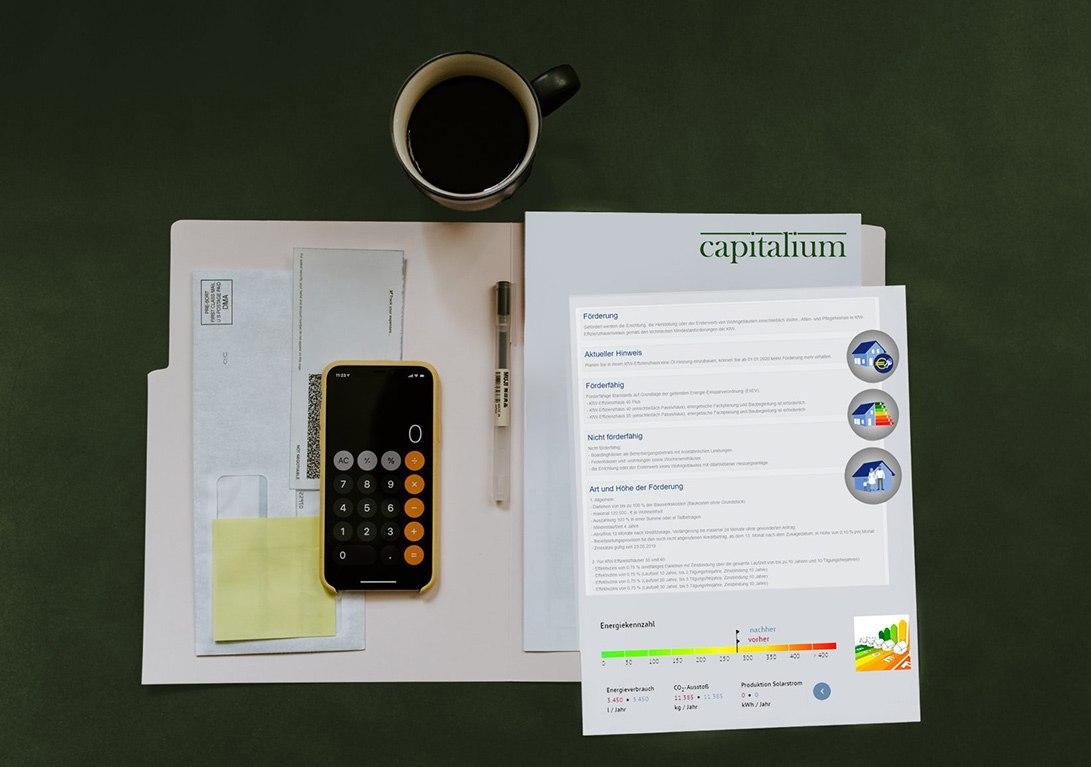 Kredit Rechner Kalkulation Bau Förderung
